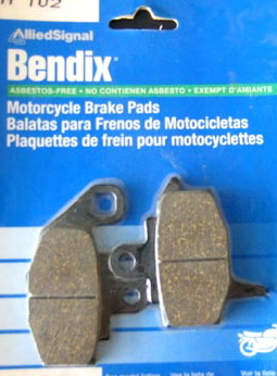 Brake pad shape